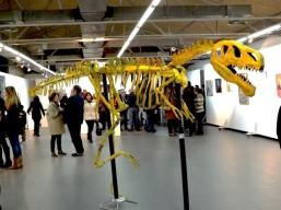 durante exposición ARTO - Centro Cultural Federico García Lorca