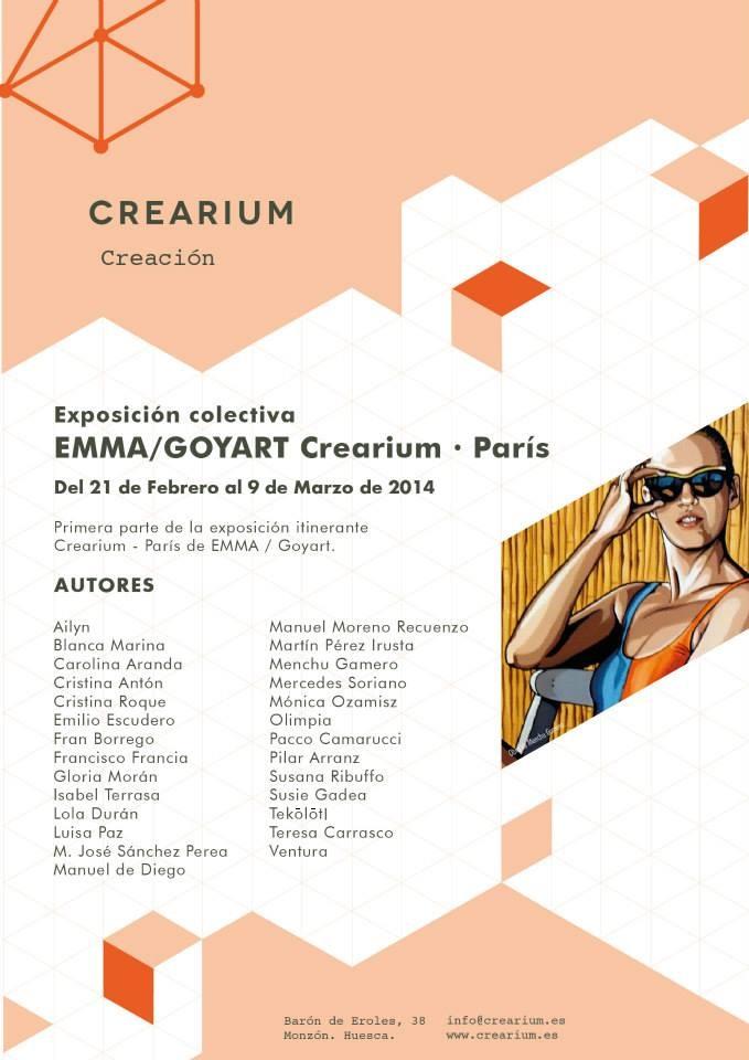 Primera parte de la exposición Itinerante Crearium