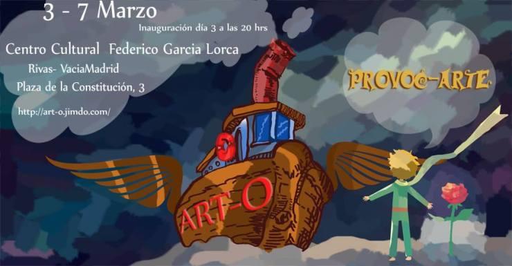 ART-O Exposición en Rivas VaciaMadrid
